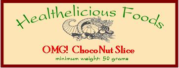 ChocoNut Slice Label