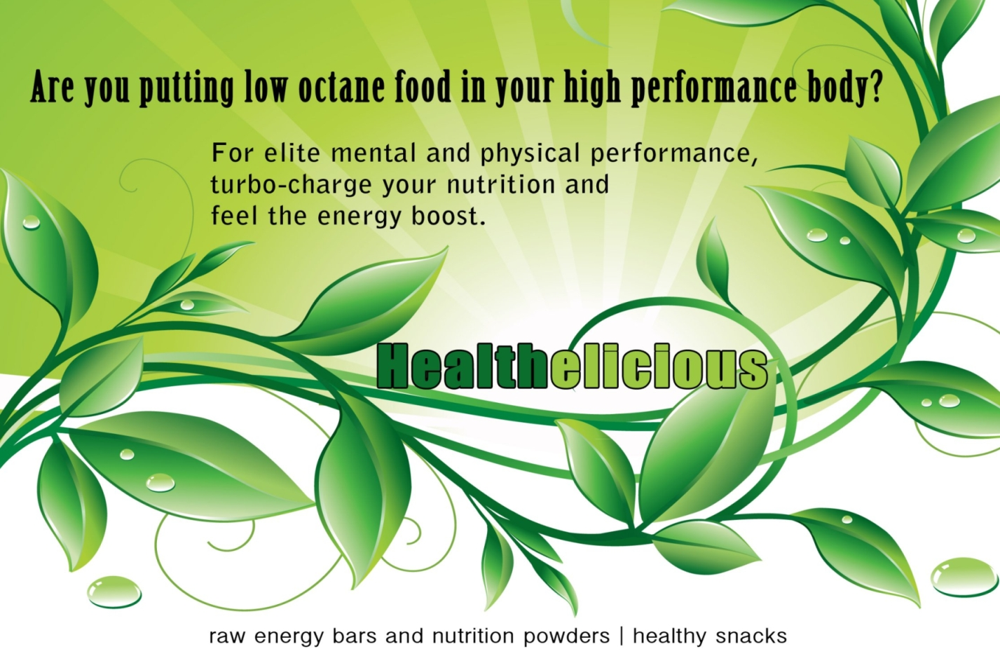 Healthelicious Page Header Graphic