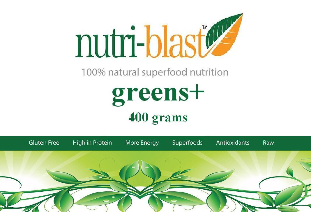 Picture of NutriBlast Greens+ Nutrition Powder