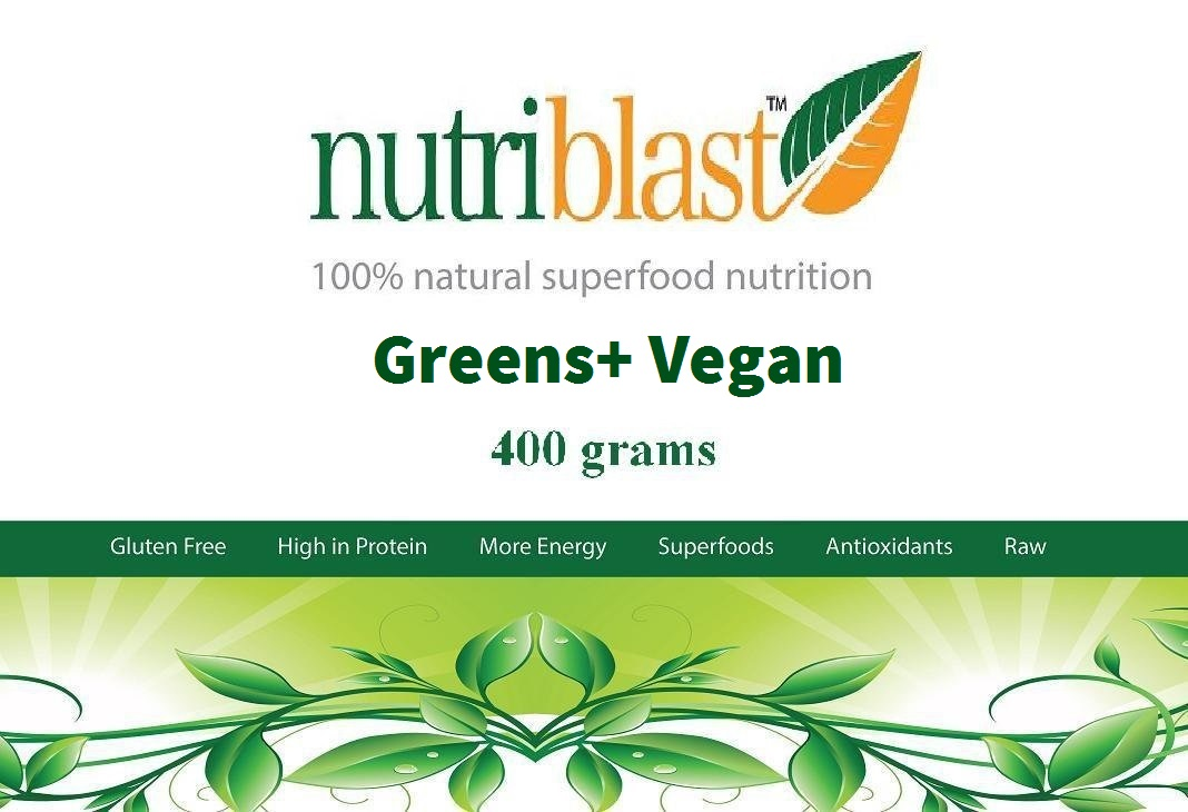 Picture of NutriBlast Greens+ Vegan Nutrition Powder