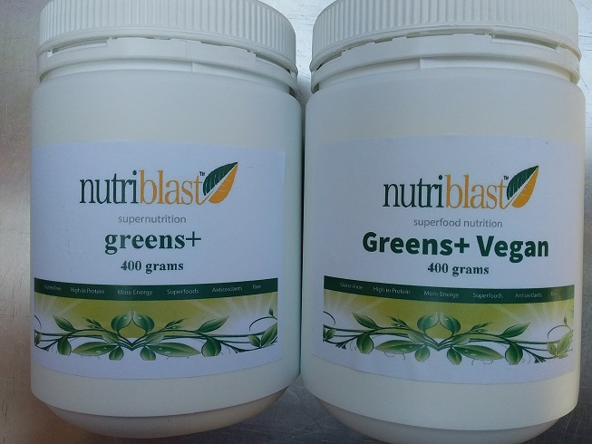 NutriBlast Greens+ Vegan