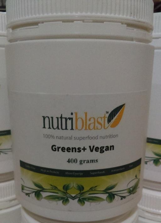 NutriBlast Greens+ Vegan