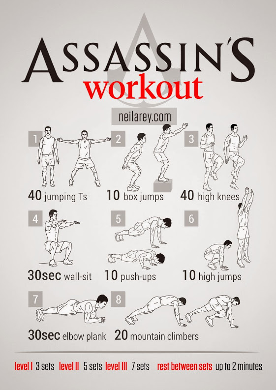 Assassin's Workout